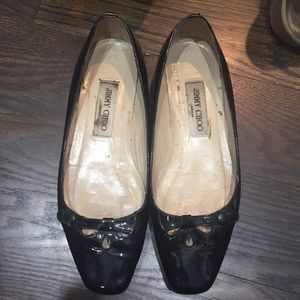 Shoes - Jimmy Choo patent leather flats